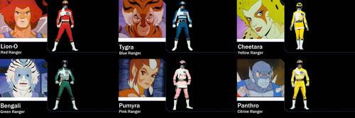 ThunderCats Cyber Enterprise Rangers by AdrenalineRush1996