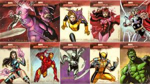 Marvel Masterpeices 2007 Artis by ryanorosco