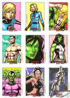 FF Archives SketchCards by ryanorosco