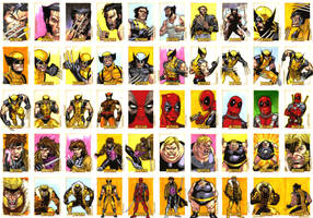 Wolverine Archives Sketches by ryanorosco