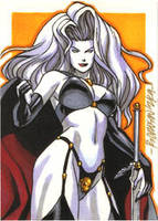 Lady Death PSC by ryanorosco