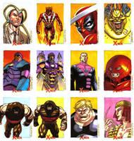 X-Men Archives Set 8 by ryanorosco