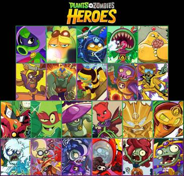 Plants vs Zombies Heroes Wallpaper 2 by PhotographerFerd