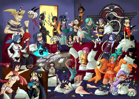 The Great New Meridian Slumber Party by CentaurHillZone