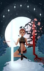 RWBY Tarot- The Star by Kagatermie