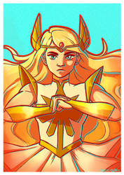 Princess of power(ful arms) by Kagatermie
