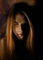Samael-Lucifer Portrait by Esther-Sanz