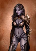 Dark Elf Lineage II by Esther-Sanz