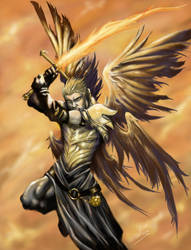 Archangel Michael by Esther-Sanz