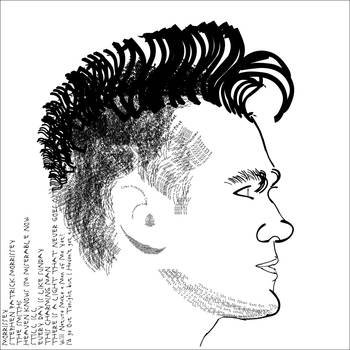 morrissey typographic portrait by beckhanson
