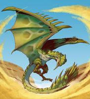 Dame Dragon by wildragon