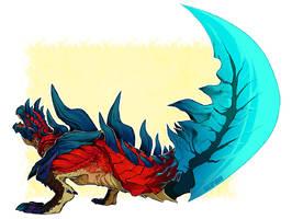 Dino Sword by wildragon
