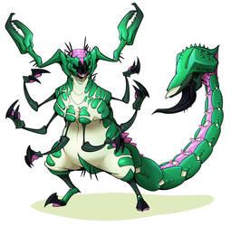 Scorpiones Crus by wildragon