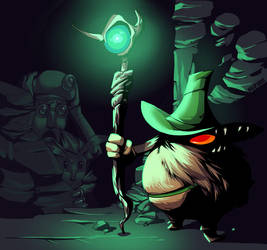 Gnome's den by wildragon