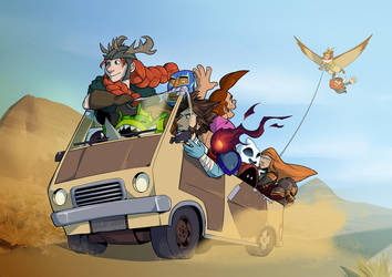 On the road by wildragon