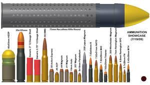 Ammunition Showcase by CrazyRonn