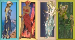 The Elements Revamped by Lunayasha