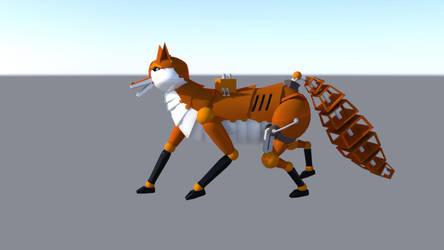 Robot Fox 2 by dragongirl117