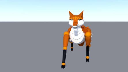 Robot Fox 3 by dragongirl117