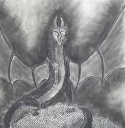 Charcoal Dragon 1 by dragongirl117