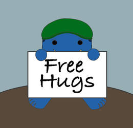 Coo! Free Hugs by dragongirl117