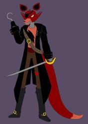 Foxy's Pirate Costume by dragongirl117