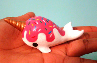 Lil Vanilla Narwhal 2 by SprinkleChick