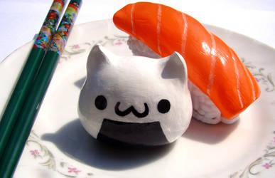 Onigiri Kitty by SprinkleChick
