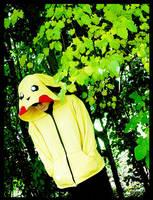 Pikachu  Hoodie by OneBadHat