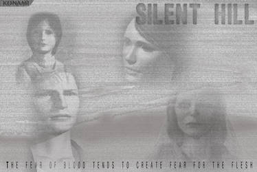 Silent Hill Video Game Poster by rodvcpetrie