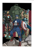 The Avengers: Earth's Mightiest Heroes by khazen