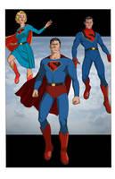 Superman: Man of Tomorrow by khazen
