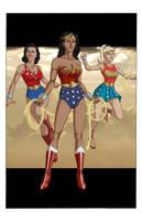 Wonder Woman: Princess of the Amazons by khazen