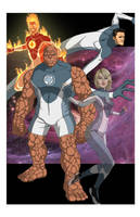 Fantastic Four: World's Greatest Heroes by khazen