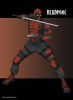 Deadpool by khazen