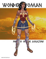 Wonder Woman: Princess of the Amazons! by khazen