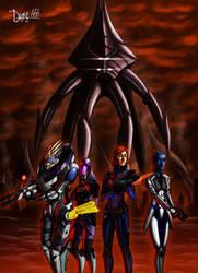 Mass Effect : Take Earth Back by drake---666