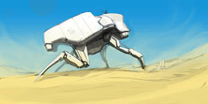 Crawler doodle by ksenolog