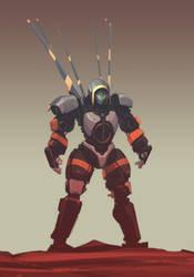 Hoodbot by ksenolog