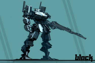 robot sketch 1 by ksenolog