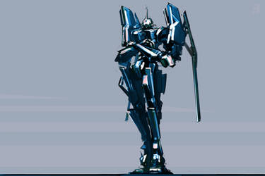 robot sketch 2 by ksenolog