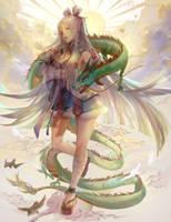 Dragon Girl by EndlessRz