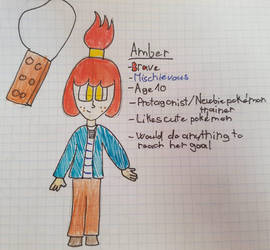 Amber reference sheet(?) by tflora04