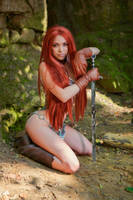 Meet the Red Sonja by octokuro
