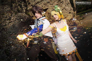 Tales of Zestiria ~ Sorey and Edna by Yamato-Leaphere