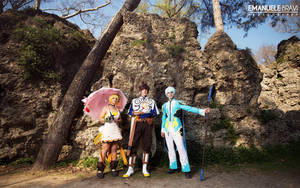 Tales of Zestiria ~ Sorey, Mikleo and Edna by Yamato-Leaphere