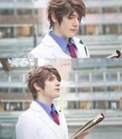 Haikyuu!! ~ Oikawa Tooru / school uniform II by Yamato-Leaphere