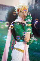 Caesar Zeppeli cosplay ~ JoJo Bizarre Adventure by Yamato-Leaphere