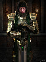 The Green Knight by Sazariel