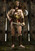 Young Warrior by Sazariel